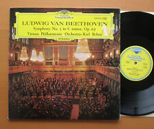DG 2530 062 Beethoven Sinfonia N. 5 KARL BOHM Tulip STEREO GATEFOLD NM/In buonissima condizione