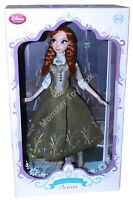Disney Store Limited Edition Anna Doll Regal Summer Wave 3 LE #3481 17""