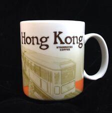Starbucks Hong Kong Icon Mug Victoria Peak Tram City Orange HKG New US Ship