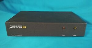 Boothroyd Stuart MERIDIAN 519 Laserdisc AC-3 AC3 Decoder Demodulator One Owner