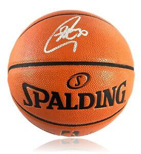 Stephen Curry Signed Basketball Golden State Warriors COA Fanatics Steph Auto