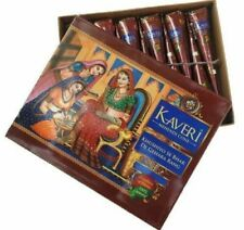 Kaveri Darkest Maroon Henna Paste - 12 Cones