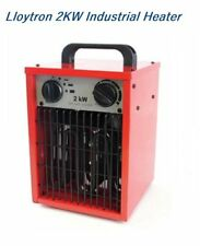 🔥 Lloytron 2KW riscaldatore ventilatore industriale a casa elettrico Workshop garage rimessa Blower