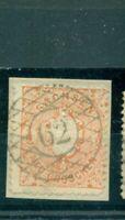 Sachsen,  Wappen Nr. 15 gestempelt auf BriefStück St. Nr. 62