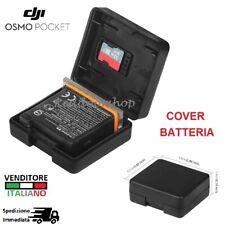 COVER BATTERIA per DJI Osmo Pocket Custodia battery case micro SD BOX glass