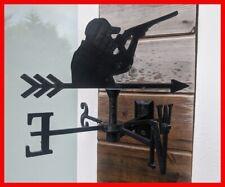 Shotgun Clay Pigeon Shooting Wall Mounted Weather vane Wind vane Weathervane