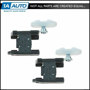 Dorman Window Regulator Guide Clip Front Pair for Chevy Cadillac Olds Pontiac