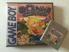 "Gameboy Bonks Adventure With Collectors Case ""Rare"""