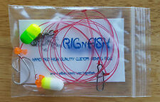 6 - Fishing Rigs, Pier Rigs, Boat Rigs, Surf Fishing Rigs (Free Shipping)