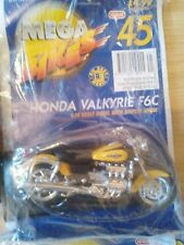 MEGA BIKES MAISTO MODEL HONDA VALKYRIR F6C  & COLLECTORS FILE INFO ISSUE 45