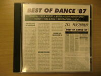 Best Of Dance '87 - Various Artists (CD, Compilation, ZYX Music, 1987)