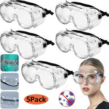 Safety Goggles Fully Enclosed Protective Eyepiece Anti-fog Anti-splash K