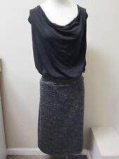 Love...ady  Women Drape Neck Dress 2X Black NWT $88
