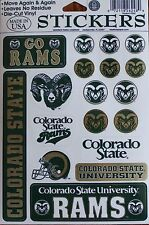 Rams Sticker University of Colorado State Licensed 18 Decal NCAA College dorm