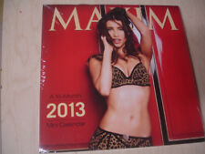 2013 Maxim 16 Month Mini Calendar Factory Sealed New Hot Bikini Swimsuit SEXY