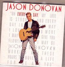 CD CARTONNE 3 POUCE JASON DONOVAN OH EVERY DAY 2T DE 1989 RARE !!!!