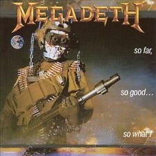 So Far, So Good...So What! by Megadeth (CD, Jan-1988, Capitol/EMI Records)