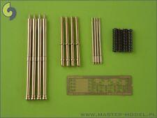 20mm HISPANO MK.II BARRILES(4 PIEZAS) a AIRFIX MOSQUITO FB.VI #24004 1/24 MASTER