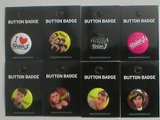 UNION J bunch of 8 - 2013 - BUTTON BADGES official licensed merchandise