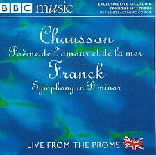 BBC CD - Chausson Poème de l'amour et de la mer, Franck Symphony In D Minor