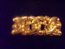VINTAGE GOLD STRETCH LINK BRACELET  sale SALE sale