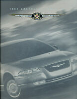 1999 Chrysler Cirrus LXi 32-page Original Sales Brochure Book