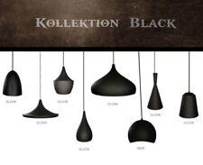 Artículos de iluminación de techo de interior de color principal negro de baño