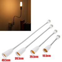 E27 Flexible Extension Adapter LED Light Bulb Lamp Holder Converter Screw Socket