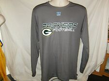 Mens Long Sleeve Green Bay Packers Shirt 100% Poly