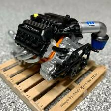 HWY-18020 Highway 61 Custom Crate 392 HEMI Engine and Transmission Diecast 1:18