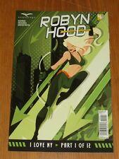 ROBYN HOOD I LOVE NY #1 ZENESCOPE COMICS VARIANT