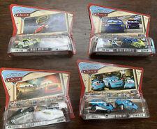 Disney Pixar Cars Diecast Movie Moments Lot (4) Cartrip Mia Tia Gasprin Cutlass