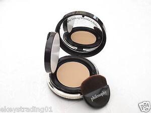 Philosophy Divine Cream-to-Satin Foundation, SPF 25-Shade Light, Mirror Compact
