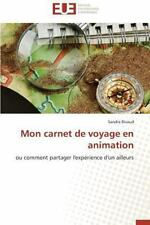 Mon Carnet de Voyage en Animation by Rivaud Sandra (2014, Paperback)