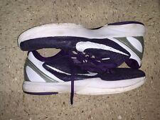 Used🔥 Nike Zoom Kobe VI 6 TB Varsity Purple Metallic Silver Sz 16 PE 454142-400