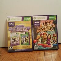 Kinect Sports 1 & 2 - Ultimate Collection  - Xbox 360 Game and Kinect Adventures