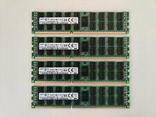 64GB (4x16GB) Samsung 16GB 4Rx4 PC3L-10600R DDR3 ECC Registered Memory