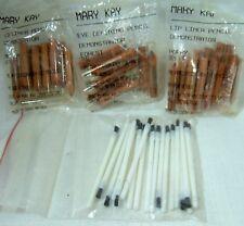 Lot 50 Mary Kay Lip Eye Defining Pencil Mini Sample Travel Wooden Liners Poppy M