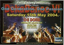 (RAVE FLYER 2004) DEKADANCE 6 @ DONCASTER,THE DOME. TOPGROOVE,M ZONE,PAUL ELSTAK