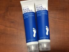 2 lot of Avon Foot Works Overnight Renewing Cream  3.4 oz sealed