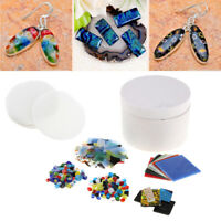 7x Small Microwave Kiln Kit DIY Fusing Glass Jewelry Set Handmade Art Crafts