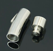 20pcs 304 Stainless Steel Bayonet Clasps 32x11mm
