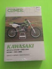 1982-2004 KAWASAKI KX125, KX250 & KX500 SERVICE REPAIR MANUAL /  CLYMER M447-3