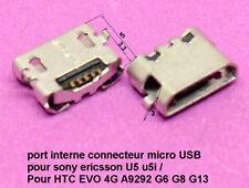 port interne micro USB Sony Ericsson U5 u5i / HTC EVO 4G A9292 G6 G8 G13 .C64.2