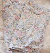 Laura Ashley Pillow Sham Shams Cover Quartet Floral Standard Distress (2)