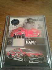 2013 redline racing ryan newman relic card numbered 5/5
