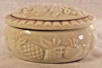 Lenox Fruits of Life Trinket Box Ivory w/Gold Trim