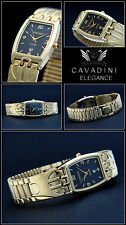 Original Noble Unisex Cavadini Watch Hard Gold Plated designer-oval Form NEW