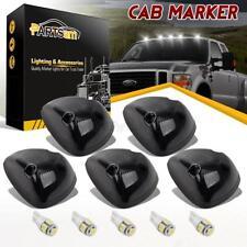 5X Smoke Cab Roof Marker Light 264141BK+White 168 5-5050 LED for 94-98 Dodge Ram