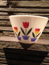 Vintage Fire King Large Tulip Mixing Bowl
